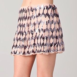 Elizabeth and James Sequined Edith Skirt